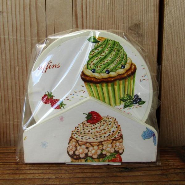 Poháralátét süteményes mintával 303060 (9)