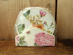 Poháralátét virágosmintával 303060 (10)